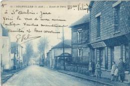 Seine Et Marne : Sognolles, Route De Paris - Frankreich