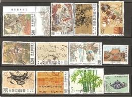 12 Timbres De ( Chine ) - Ohne Zuordnung
