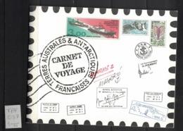 TAAF - FSAT - Yvert C248 - Scott#257a-257l - Carnet De Voyage Neuf - Tierras Australes Y Antárticas Francesas (TAAF)