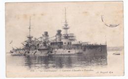 LE CHARLEMAGNE Cuirassé D'escadre à Tourelles - Guerre