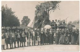 FONTENAY LE COMTE - Carte Photo Légendée - Cavalcade 1909, Char De La Vendée - Fontenay Le Comte