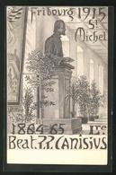 Künstler-AK Fribourg, St. Michel 1915, Beat. P.P. Canisius - FR Fribourg