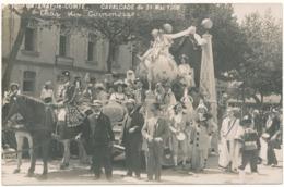 FONTENAY LE COMTE - Carte Photo Légendée - Cavalcade 1909, Char Du Commerce - Fontenay Le Comte