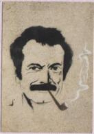 CPM - GRAFFITI ART POPULAIRE - MALAKOFF Bd Camelinat / 1989 - Georges BRASSENS - Photo Et Pochoir JP PAGNON ... - Belle-Arti