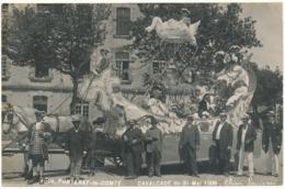 FONTENAY LE COMTE - Carte Photo Légendée - Cavalcade 1909, Char Louis XII - Fontenay Le Comte