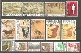 15 Timbres De Chine - Chine