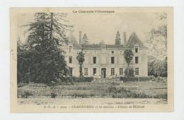 CPA: 16 - CHASSENEUIL - CHATEAU DE RUSSAS - - Cognac