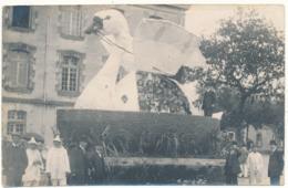 FONTENAY LE COMTE - Carte Photo Non Légendée - Cavalcade 1909 - Fontenay Le Comte
