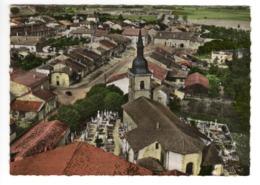 En Avion Au-dessus De CROISMARE (54) - La Rue De L'Eglise - Autres Communes