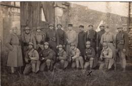 CARTE PHOTO ELEVES CAPORAUX DE LA 7ème COMPAGNIE CLASSE 1922 2ème CONTINGENT NANCY 1923 - Régiments