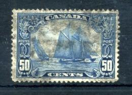 1928-29 CANADA N.138 USATO 50 Centesimi - 1911-1935 Regno Di George V