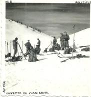 ( PLAN CAVAL  )( BREIL SUR ROYAT ) ( 06 ALPES MARITIMES )( MILITAIRES ) CUVETTE DE PLAN CAVAL.AU TIR ( 1936 ) - War, Military