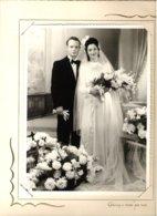 Couple De Mariés Photo Grisez Paris Bot 79-07 - Personnes Anonymes