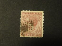 ESPAGNE 1877  IMPOT DE GUERRE  ALPHONSE XII - Impuestos De Guerra