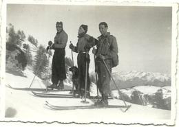 ( PLAN CAVAL  )( BREIL SUR ROYAT ) ( 06 ALPES MARITIMES )AU FOND  LES MONTAGNES ITALIENNES ( 1936 ) - Places