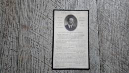Faire Part Décès Pierre Bellier De La Chavignerie 101e Régiment Infanterie Champien Guerre Ww1  Généalogie - Obituary Notices