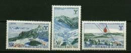 Rep. Hte Volta ** N° 184/186 - Jeux Olympiques à Grenoble - Obervolta (1958-1984)