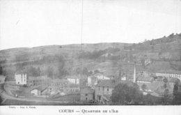A-19-5307 :  COURS. QUARTIER DE L'ILE. - Cours-la-Ville