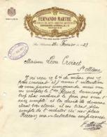 San Sabastian Construccion Decoration  FERNANDO MARTHE  Muebles De Arte Objetos Artisticos  28 Fev 1927 - Espagne