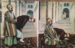 CPA, Salut De L'Orient, Prière Musulmane, écrite De Salonique, En 1910 (Turquie, Grèce) - Grecia