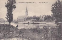 [49] Maine Et Loire > Chalonnes Sur Loire L'église Saint Maurille Prise De L'ânerie - Chalonnes Sur Loire