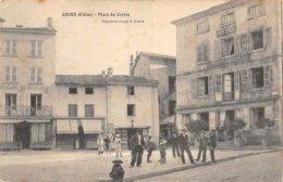 A-19-5314 :  COURS. PLACE DU CENTRE. - Cours-la-Ville