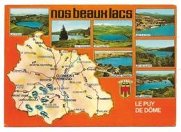 """63 Le Puy De Dôme - Nos Beaux Lacs - """"Beaux Sites De L'Auvergne"""" - France"""