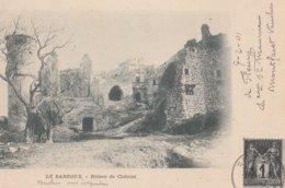 CPA 84  LE BARROUX  RUINES  DU CHATEAU EN 1901 - France