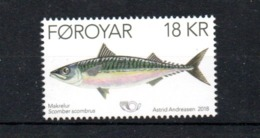 NORDEN 2018 Foroyar Feroe Fish MNH - Gemeinschaftsausgaben