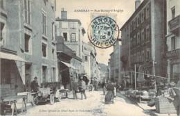 07 ARDECHE Grosse Animation Tacot Et Commerces Rue Boissy D'Anglas D'ANNONAY - Annonay