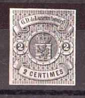 Luxembourg - 1859/63 - N° 4 - Neuf (*) - Armoiries - 1859-1880 Wappen & Heraldik