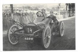 Circuit D'Auvergne - La Coupe GORDON-BENETT 1905  - BIANCHI (Wolseley) Angleterre  -  L 1 - France
