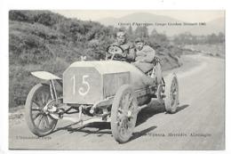 Circuit D'Auvergne - La Coupe GORDON-BENETT 1905  - WERNER (Mercédès) Allemagne  -  L 1 - France