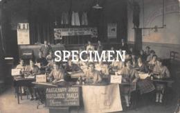 Fotokaart Maatschappij Singer Kostelooze Naailes 1930 - Moen - Zwevegem