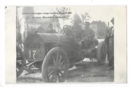 Circuit D'Auvergne - La Coupe GORDON-BENETT 1905  - BURTON (Mercédès) Autriche  -  L 1 - France