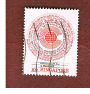 SINGAPORE   -  SG 443  -    1983  COMMONWEALTH DAY   -  USED ° - Singapore (1959-...)