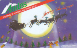 Singapore, GPT  Merry Christmas  Private Card Andes RRR - Singapour