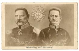 220  - Hindenburg Und Hötzendorf - Guerre 1914-18