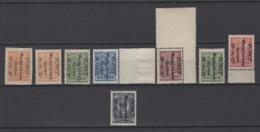 ++ 1922 Mi. 185(A+B)-189 ** Philately For Children Full Set Of Varieties MNH OG MNH See Discription - Neufs