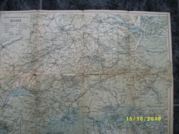 Carte Topographique Du Suisse - Zwiterserland - Helvetia - Cartes Topographiques