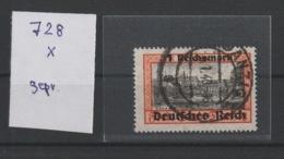 Deutsches Reich MNr. 728 X Gest. Gepr. - Germany