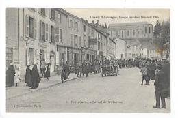 Circuit D'Auvergne - La Coupe GORDON-BENETT 1905  - Pontaumur, Départ De M.BURTON -  L 1 - France