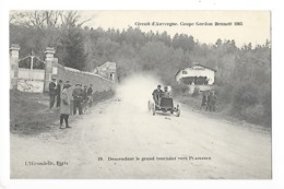Circuit D'Auvergne - La Coupe GORDON-BENETT 1905  - Descendant Le Grand Tournant Vers Plaisance -  L 1 - France