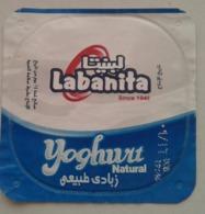 Egypt - Couvercle De Yoghurt Labanita (foil) (Egypte) (Egitto) (Ägypten) (Egipto) (Egypten) Africa - Koffiemelk-bekertjes