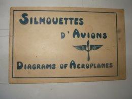Aviation 1914 1918 :  Carnet De Silhouettes  Début De Guerre - Livres, Revues & Catalogues