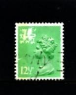 GREAT BRITAIN - 1982  WALES  12 1/2 P.  LB  PERF. 15x14 FINE USED  SG W37a - Regionali
