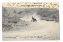 Circuit D'Auvergne - La Coupe GORDON-BENETT 1905  - Tournant Du Gendarme -  L 1 - France