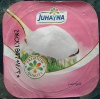 Egypt - Couvercle De Yoghurt Juhayna Light (foil) (Egypte) (Egitto) (Ägypten) (Egipto) (Egypten) Africa - Milk Tops (Milk Lids)