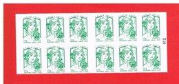 FRANCE - 2013 - CARNET N° 858-C1 - -NEUF** NON PLIE -  Marianne De CIAPPA Et KAWENA - TVP Vert - Y&T -COTE:21.00 Euros - Definitives