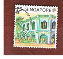 SINGAPORE   -  SG 632  -    1990 PERANKAN PALACE -  USED ° - Singapore (1959-...)